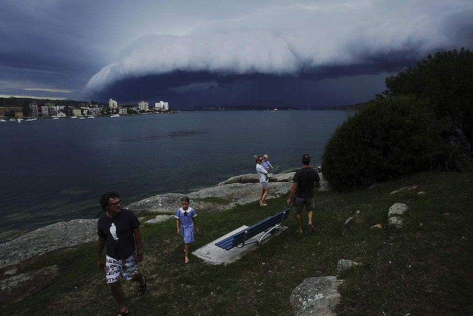 sydney storm photos yesterday - photo#35