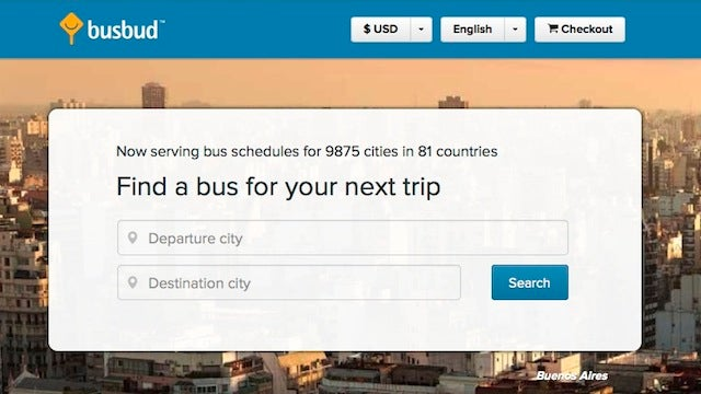 BusBud Guides You to Cheap Bus Tickets Around the Globe