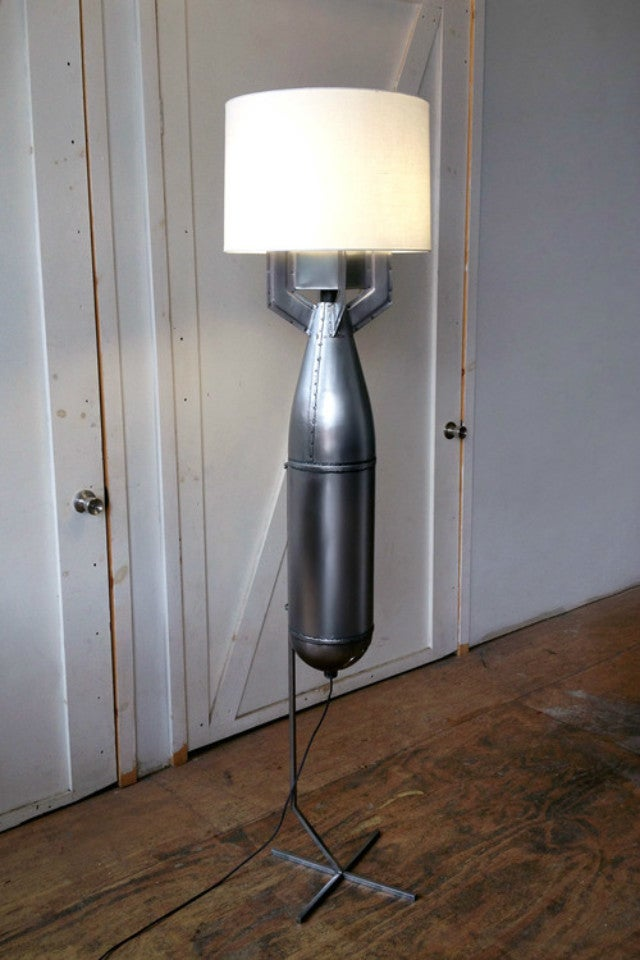The Megaton Floor Lamp Is Built from a Real Bomb