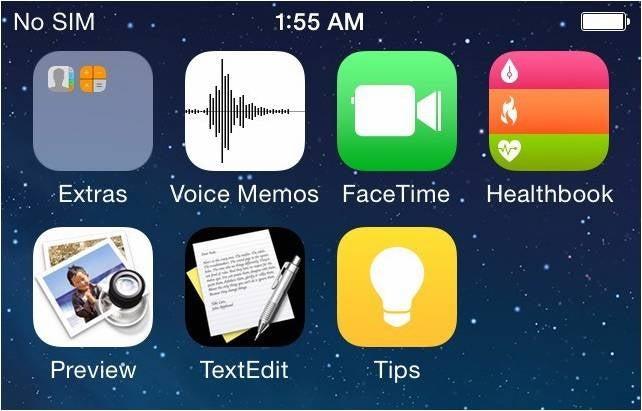 Así podría ser iOS 8, con nuevas apps de salud