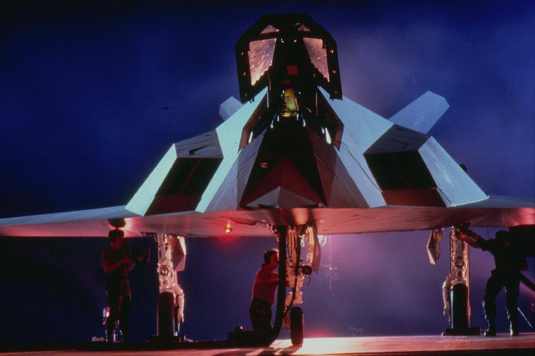 Why Is The 'Retired' F-117 Nighthawk Still Flying?