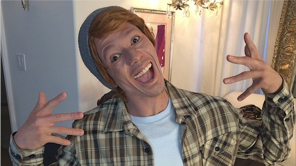 ​Welp, Here's Nick Cannon Doing Whiteface