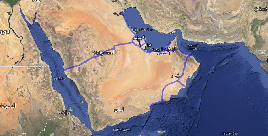 How the Persian Gulf Is Quietly Building a Railroad Empire