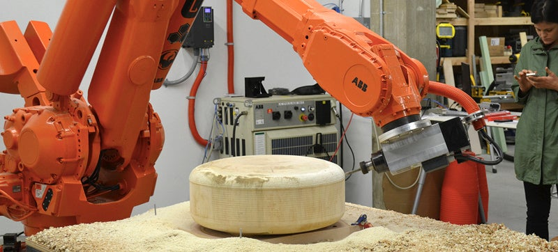 This Woodworking Robot Used To Build Cars and Trucks