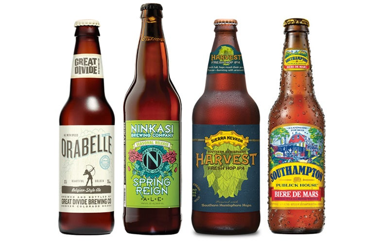 The Best Refreshing Beers for the First Weekend of Spring