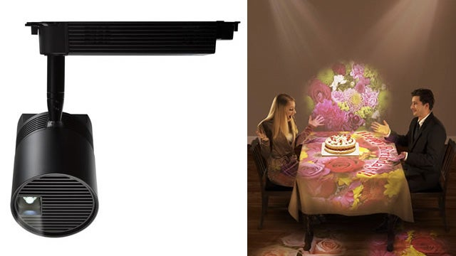 Overhead Laser Lights That Illuminate With Images and Video