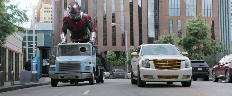 the new ant man and the wasp trailer is the perfect