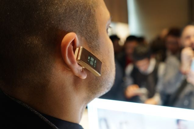 Huawei TalkBand B2: Half Fitness Band, Half Earpiece, All Bizarre