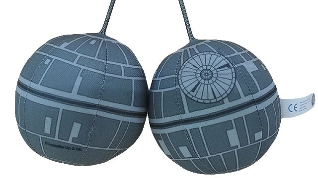 Your Car (Or Landspeeder) Deserves These Death Star Hanging 'Dice'