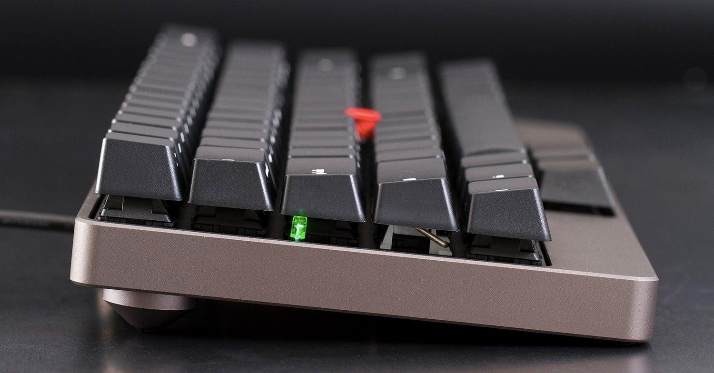 A Compact Semi-Portable Keyboard With Genuine Mechanical Keys