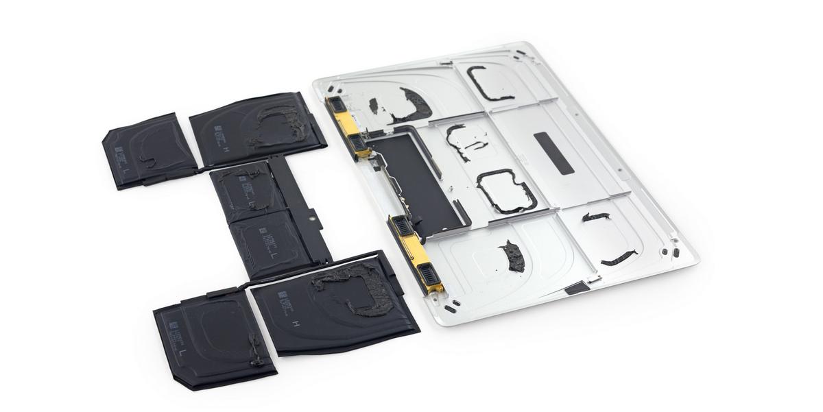 An Inside Look At The New MacBook's Weird, Slim Battery