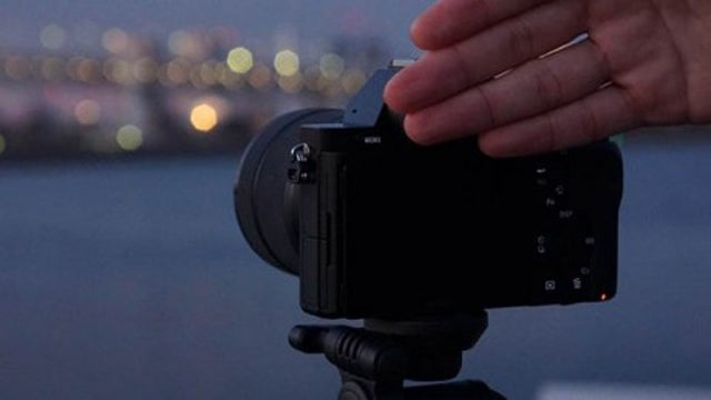 Sony's Touchless Shutter App Takes A Photo Without Touching The Camera