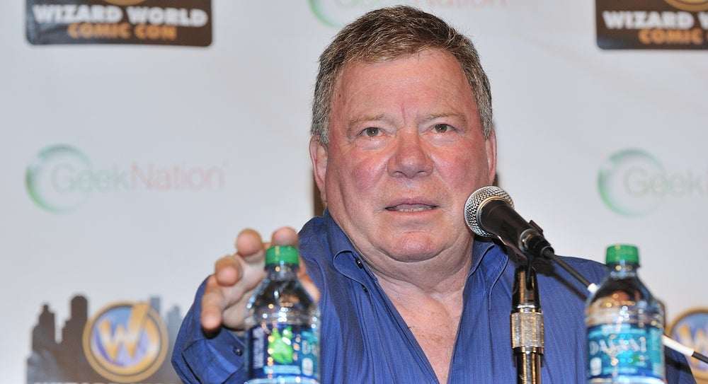 William Shatner Is Crowdsourcing Ideas For His Bonkers Drought Plan