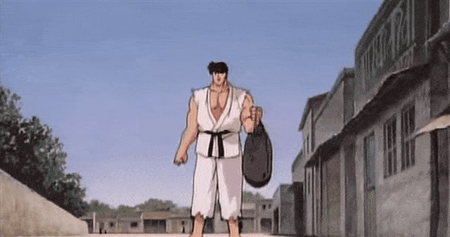 Street Fighter II: The Animated Movie, In Gifs