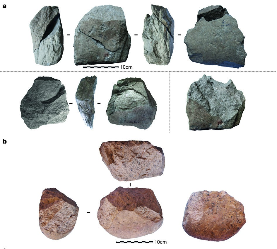 from Roland carbon dating stone tools