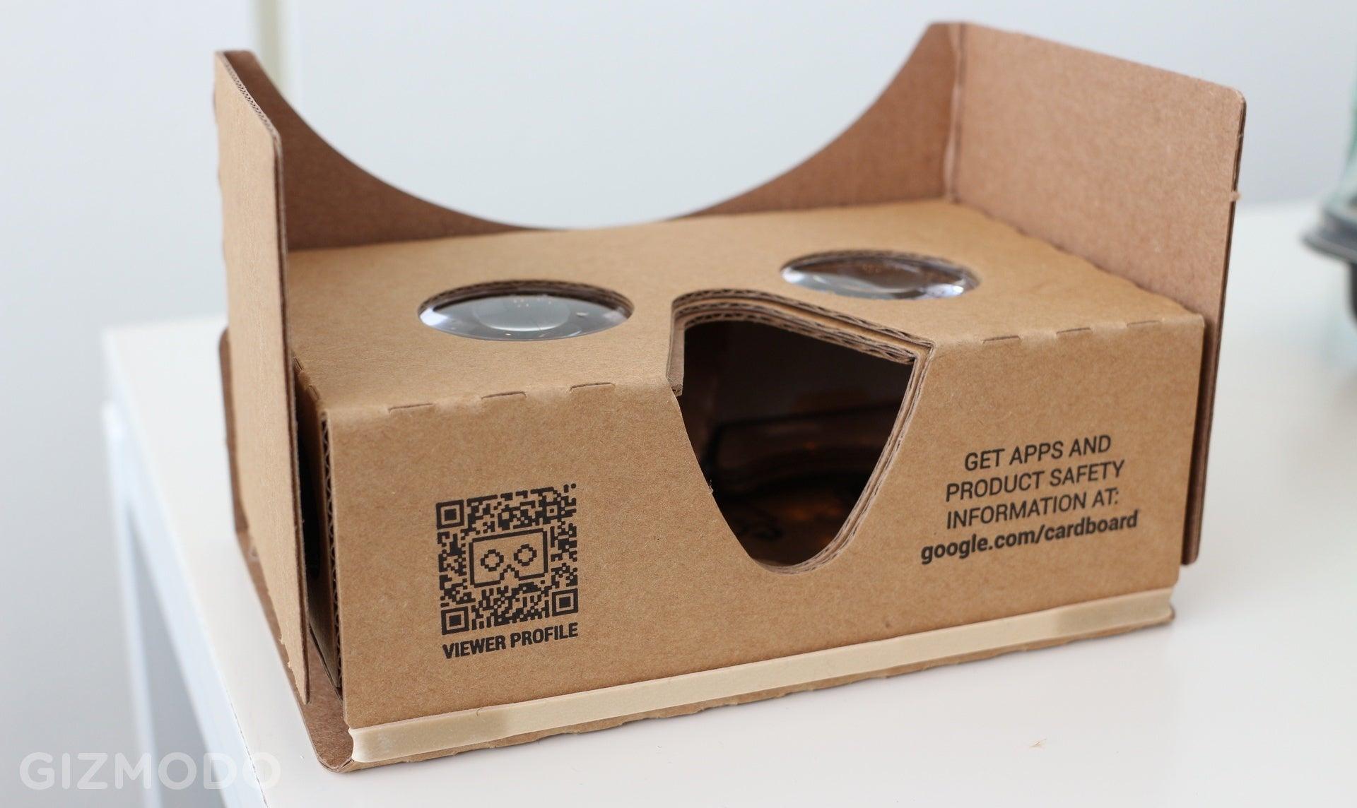 Google S New Cardboard Hands On A Little Bigger A Little