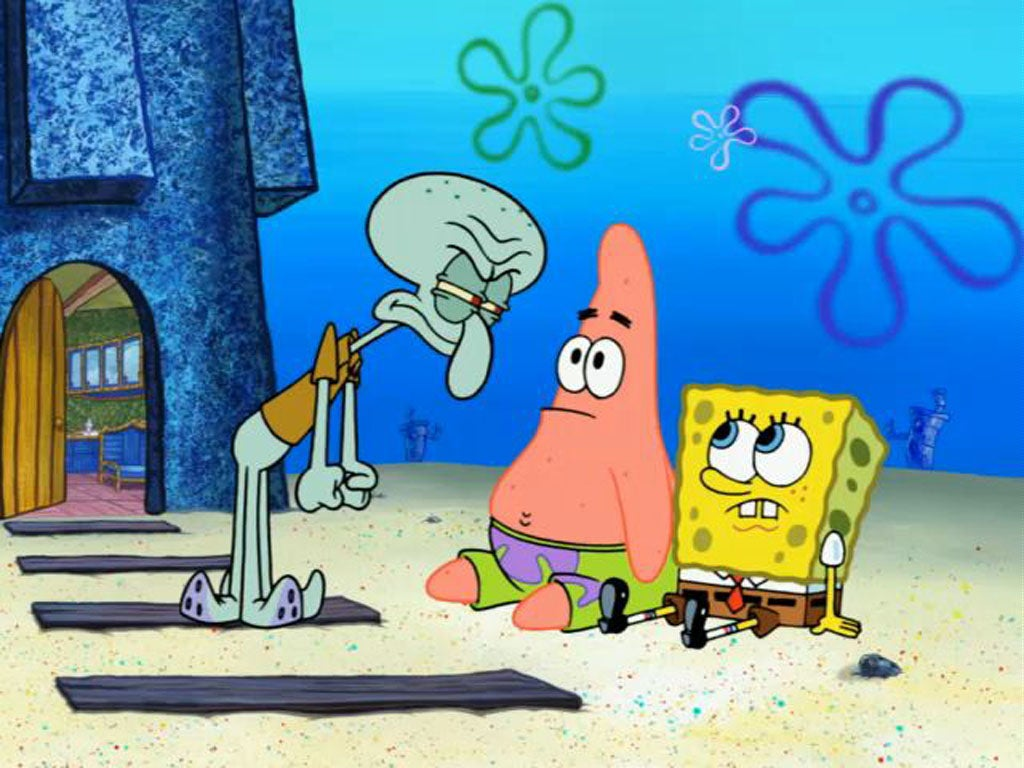 Splatoon Players Are Obsessed With Spongebob Squarepants ...