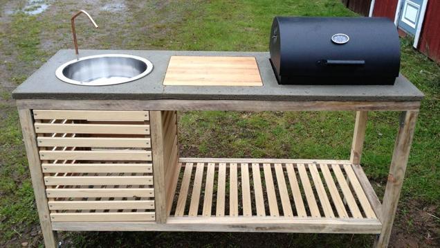 Build a portable outdoor kitchen lifehacker australia for Cuisine outdoor