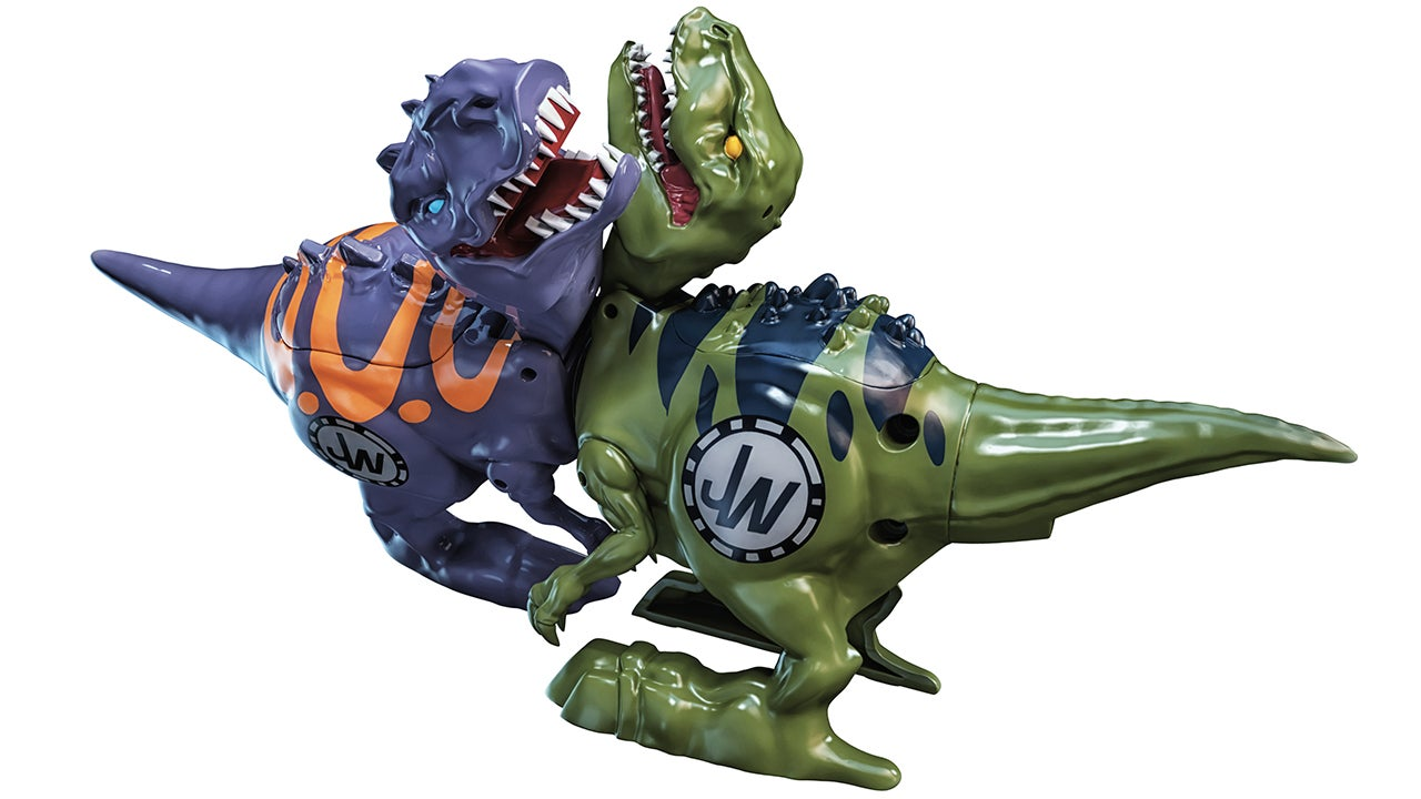 Spinning Magnetic Cores Make These Brawlasaurs Dinos