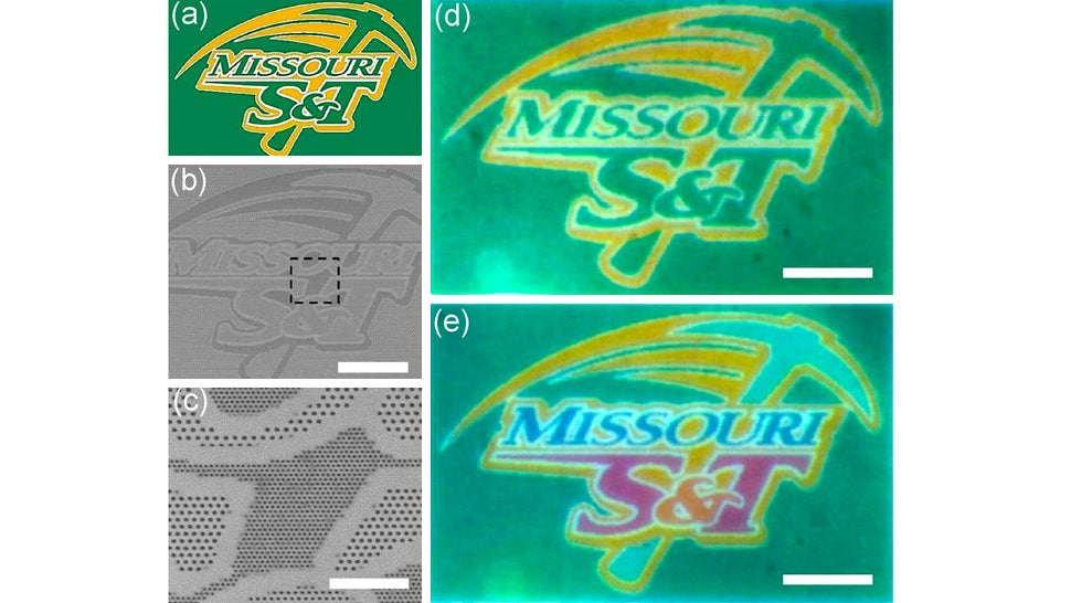 An Inkless Printer Makes Colour Images With Tiny Microscopic Holes