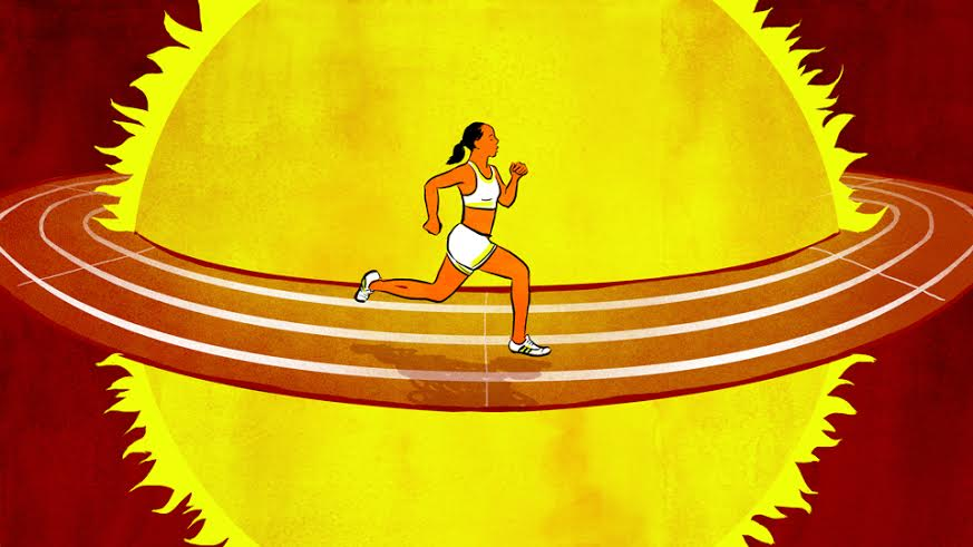 How to Get Used to Exercising in the Heat