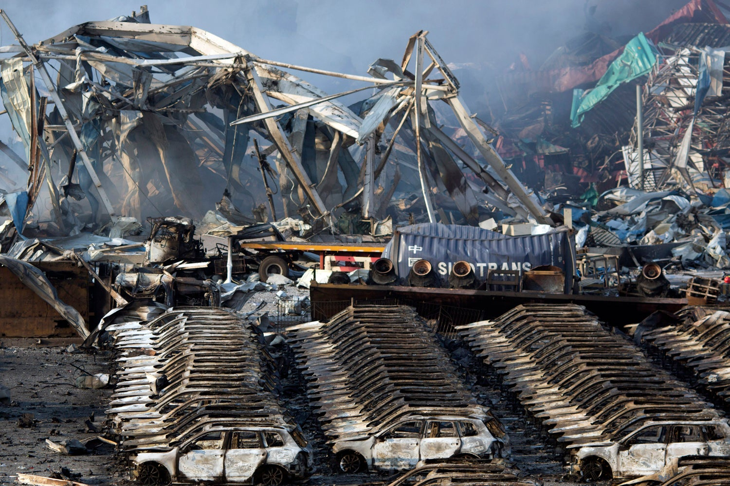 Tianjin Blasts Released So Much Energy They Looked Like Earthquakes Gizmodo Australia