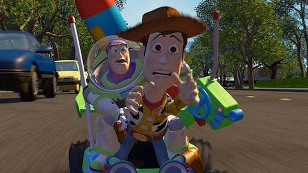 Toy Story  Dog Scene
