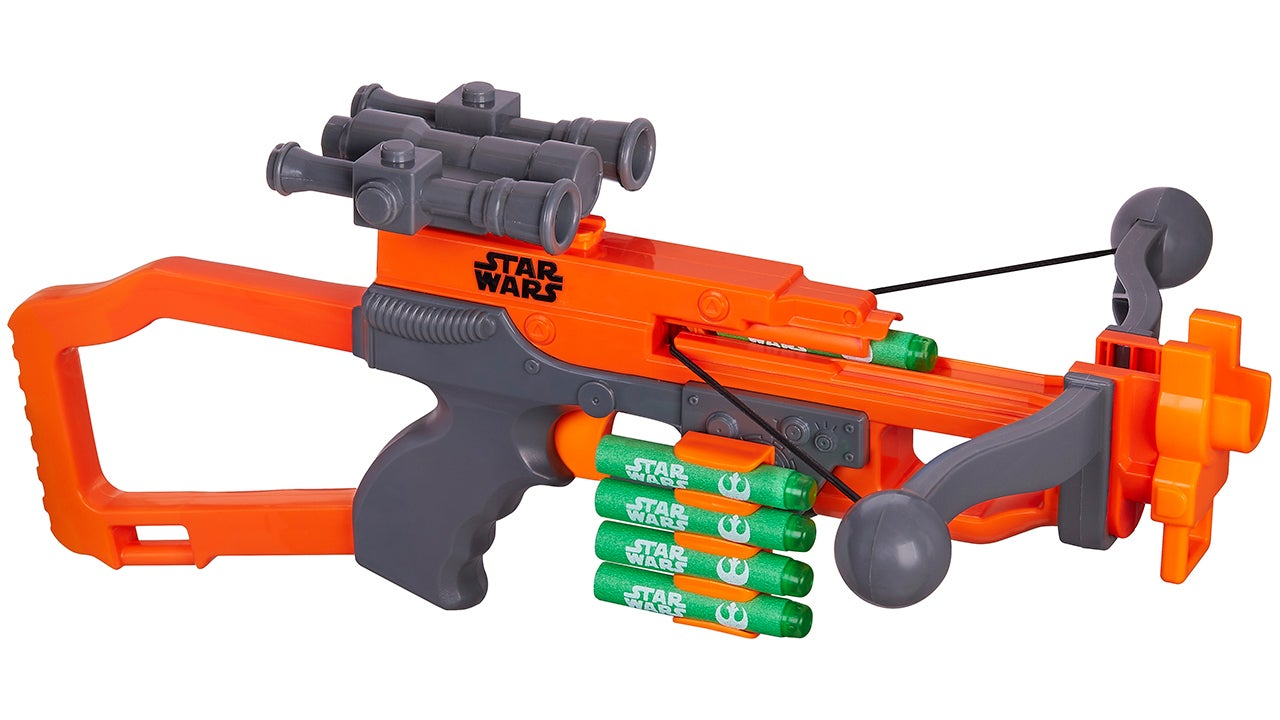 The Nerf Version Of Chewbacca's Bowcaster Works Like A Real Crossbow
