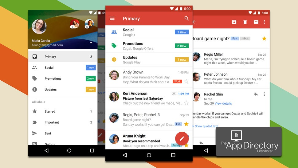 best free exchange email app for android tablet