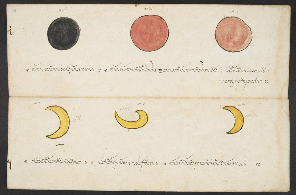 The Blood Moon Was Recorded Back In 19th Century Thailand