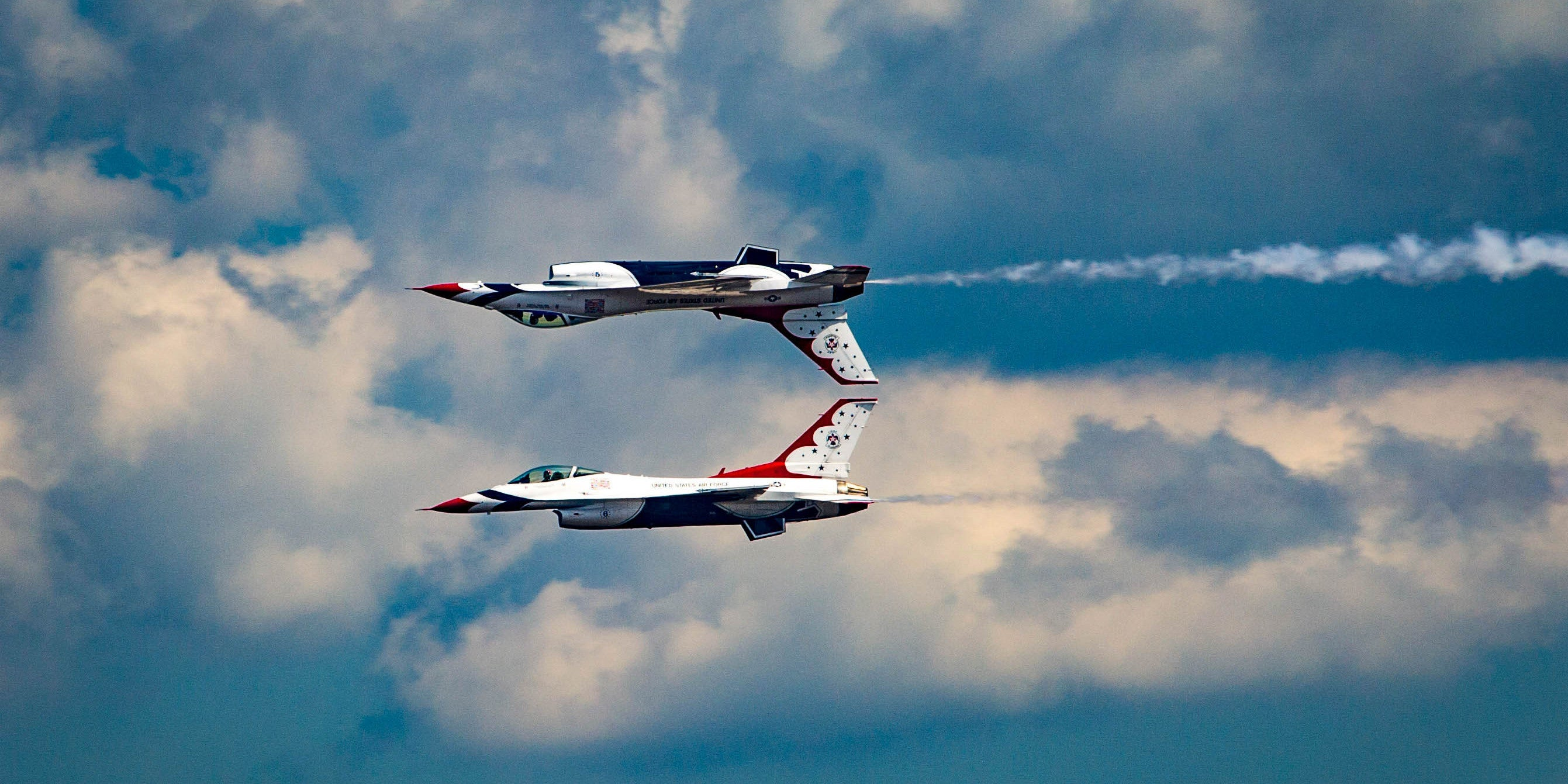 This Jet Display Is Like Watching A Reflection In A Lake