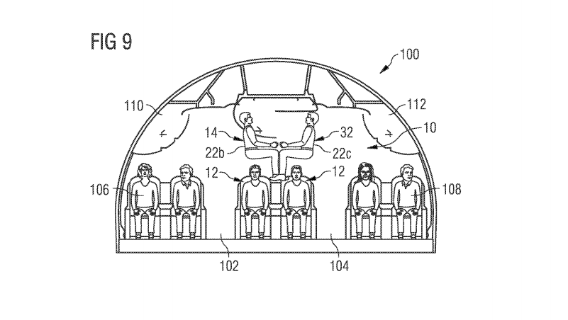 We Cannot Allow This Design for Acrobatic Aeroplane Seating to Become Real