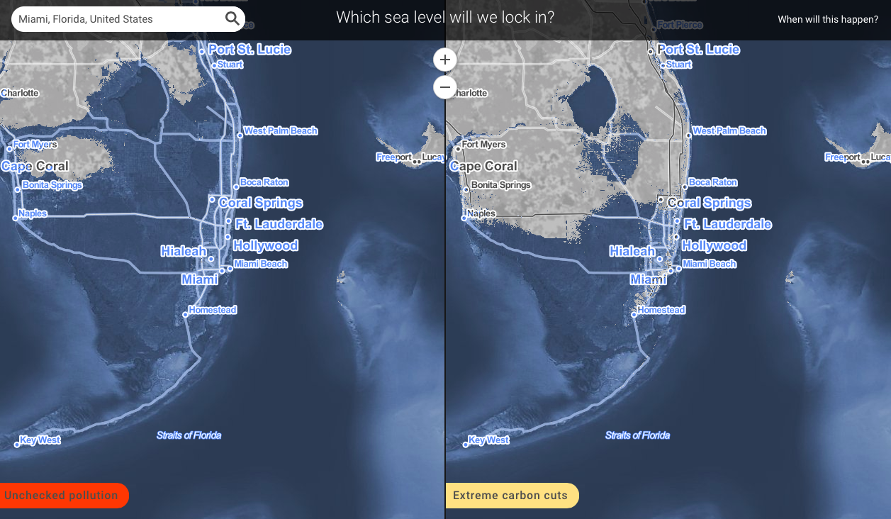 These Are the American Cities That Could Be Buried Underwater by 2200