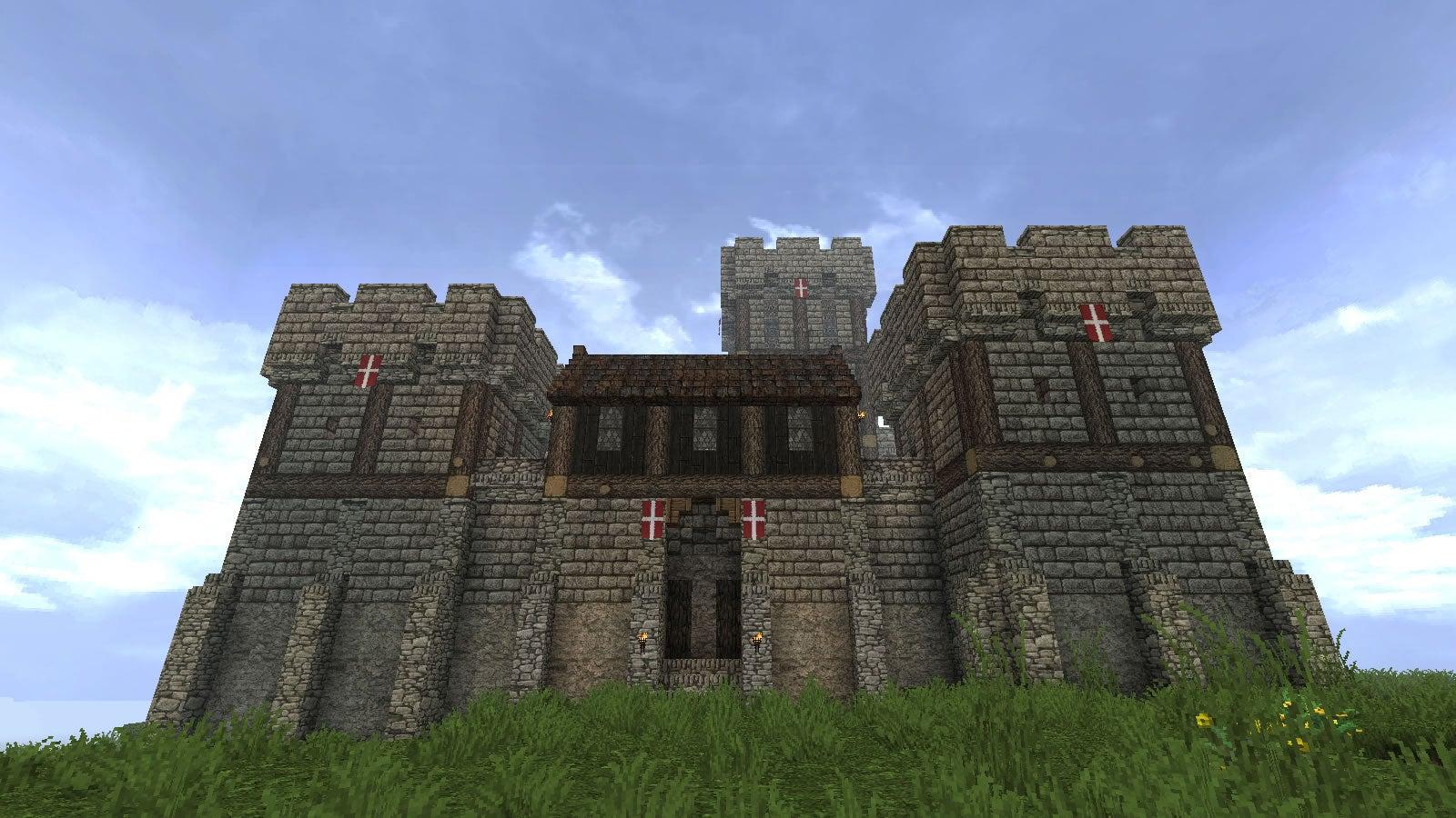 Minecraft Players Pretty Good At Castles Kotaku Australia
