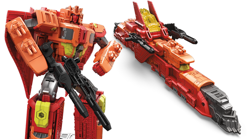 Hasbro's New Sentinel Prime Toy Turns Into A Goddamn Space Train