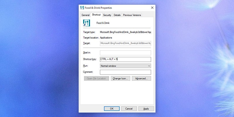 Make Your Own Shortcut Keys In Windows 10