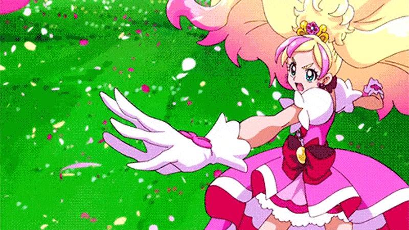 Magical anime girls kicking arse and taking names kotaku australia