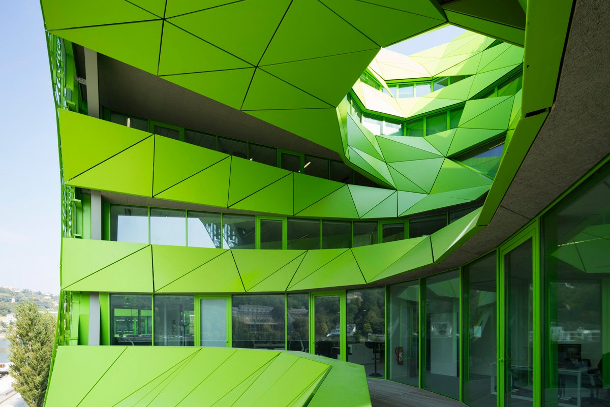 Euronews' Alien HQ in Lyon Is Staring At You
