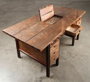This Desk Is a Also a Playable Pipe Organ