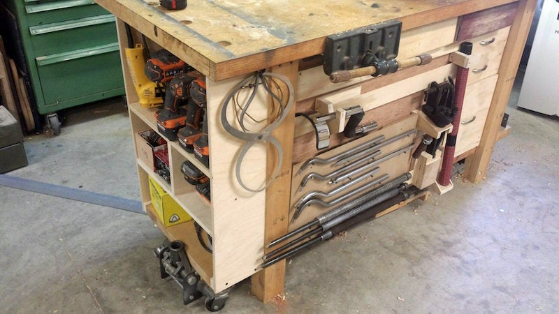 Build A Completely Modular Workbench Storage System With