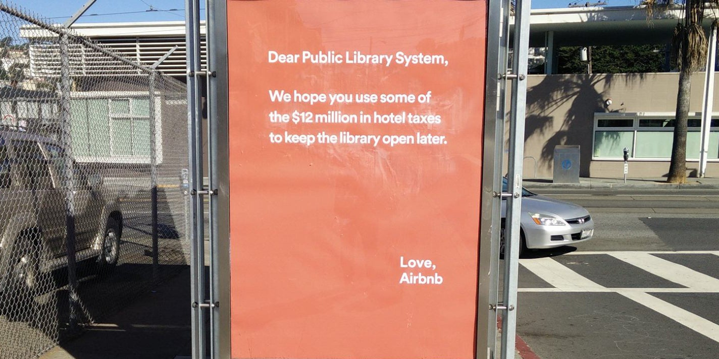Airbnb Really Screwed Up With Ads About Paying Taxes