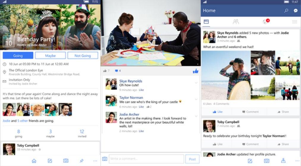 windows mobile facebook app