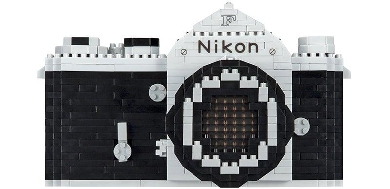 Build Nikon's Very First SLR With This New Nanoblocks Set