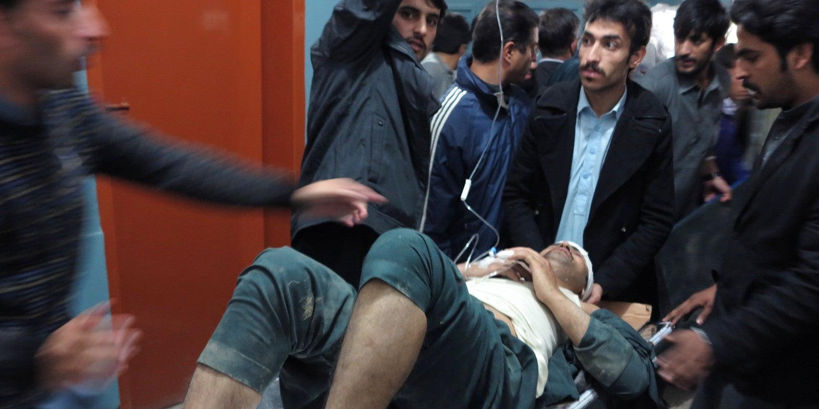 A Huge Earthquake Has Just Hit NorthernAfghanistan