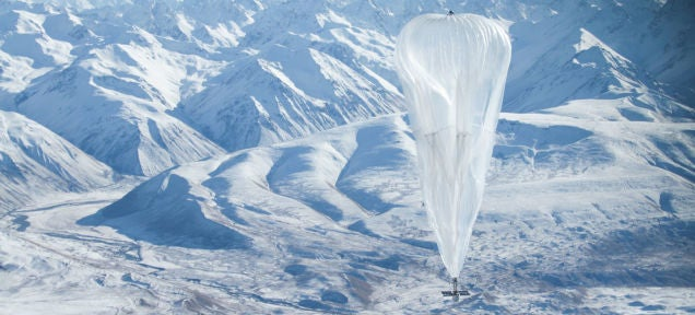 Google's Internet Balloons Are Floating Over To Indonesia