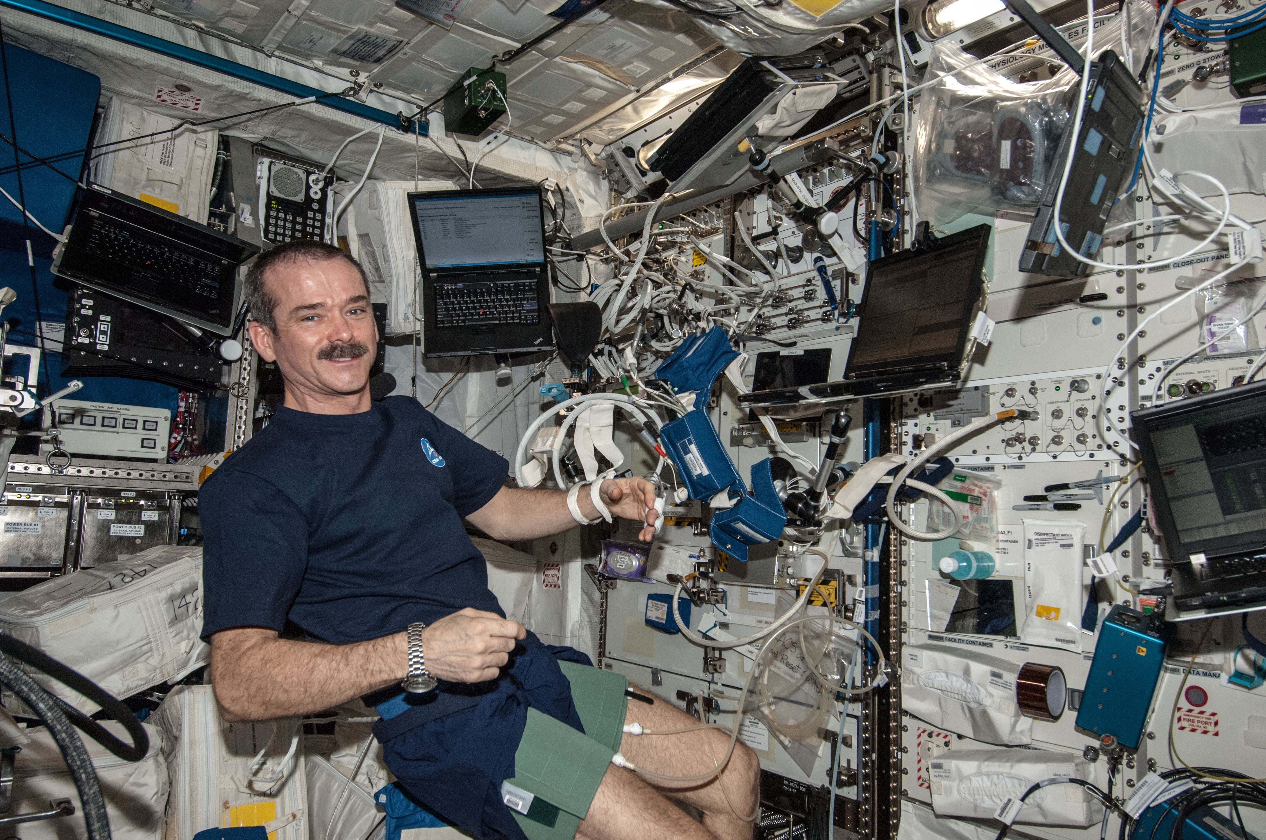 How Are Laptops Used On The International Space Station?