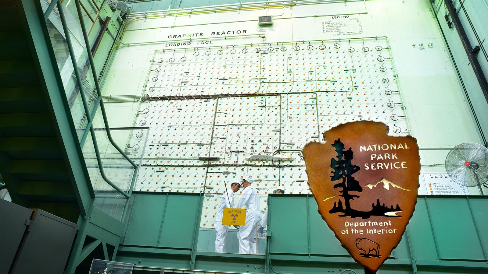 Why Does This Nuclear Reactor Have a National Park Sign?
