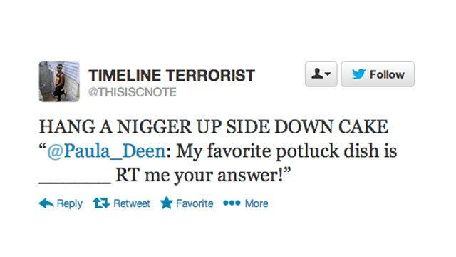 Black People Troll Paula Deen on Twitter, Hilarity Ensues