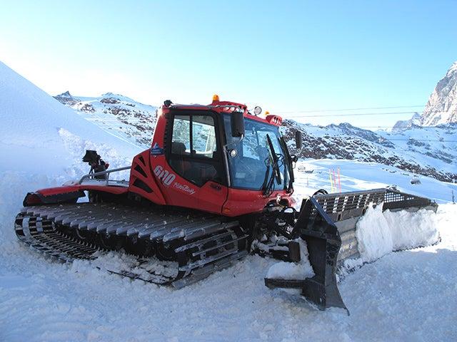 How a Giant Underground Air Conditioner Supplies Zermatt With Snow