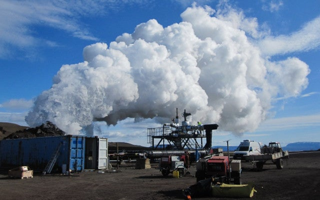 The world's first magma-powered geothermal plant